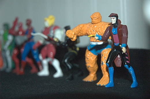 Marvel Action Figures (SS 1, AP 4.5, Focal Length 70)