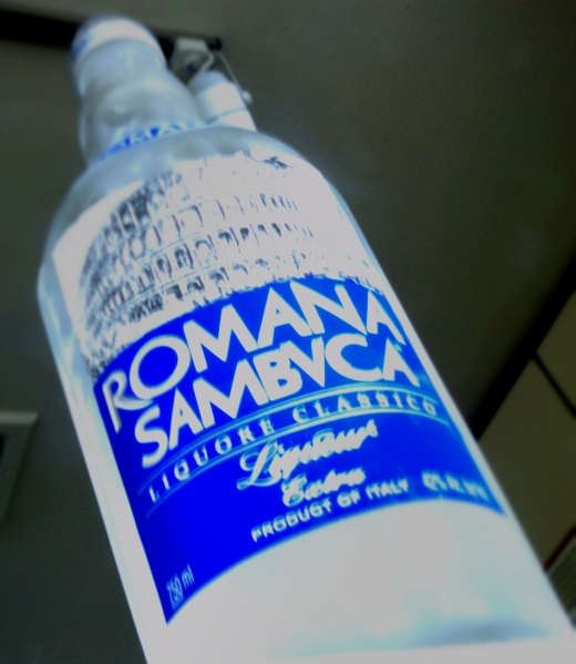 Sambuca Bottle - SS 1/30, F22, Focal Length 18mm