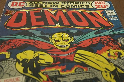 Demon #1 DC Comics (1972) - SS 1/50, F8, Focal Length 48mm