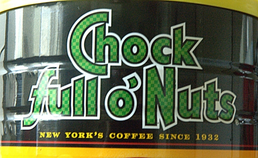 Chock Full o' Nuts Java - SS 1/10, F10, Focal Length 65mm