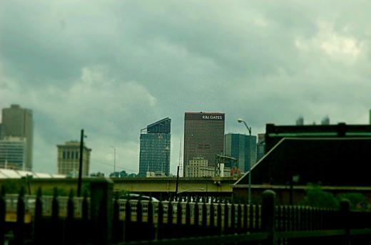 Downtown Progress - SS 1/1600, F11, Focal Length 70mm