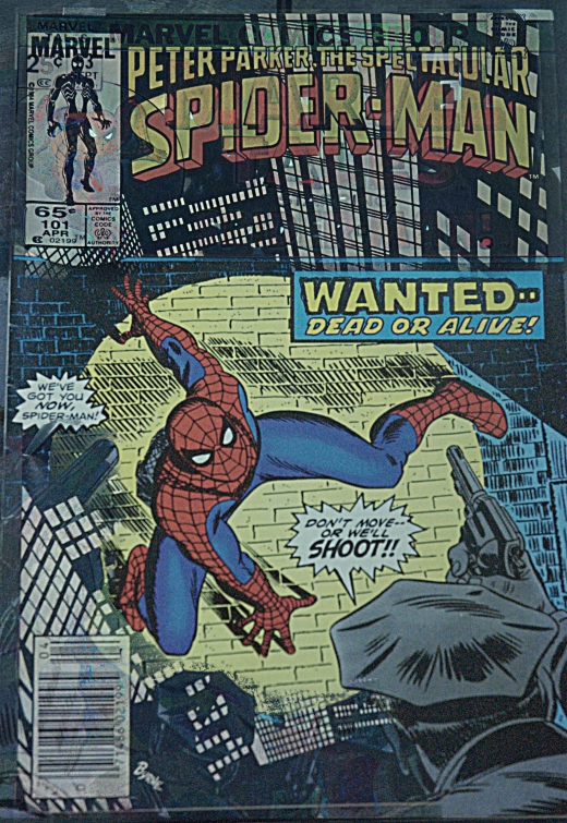 Spidey Mash-up - Marvel Presents: The Spectacular Spider-Man - SS 1/320, F4.5, Focal Length 55mm
