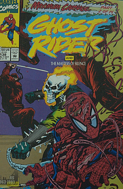 Ghost Rider Spider Man Maximum Carnage