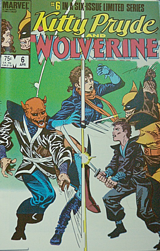 Kitty Pyrde & Wolverine #3 and #6 Mash-up