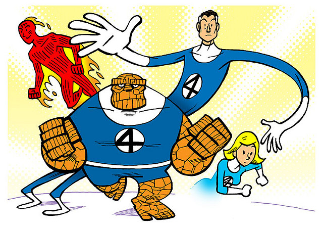 Fantastic 4 Cartoon Characters : Top ten most hated comic book characters the nerd in