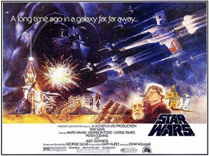 Episode IV: A New Hope film poster - Photo Credit: Wiki Commons
