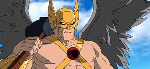 Hawkman in PUblic enemies